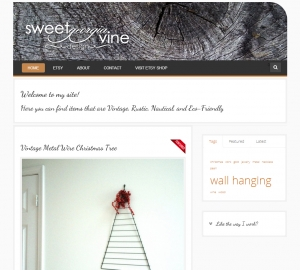 Sweet Georgia Vine Design Website