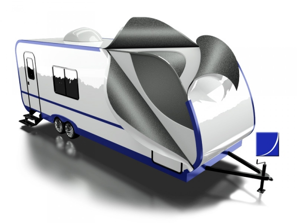 RV Construction Illustration